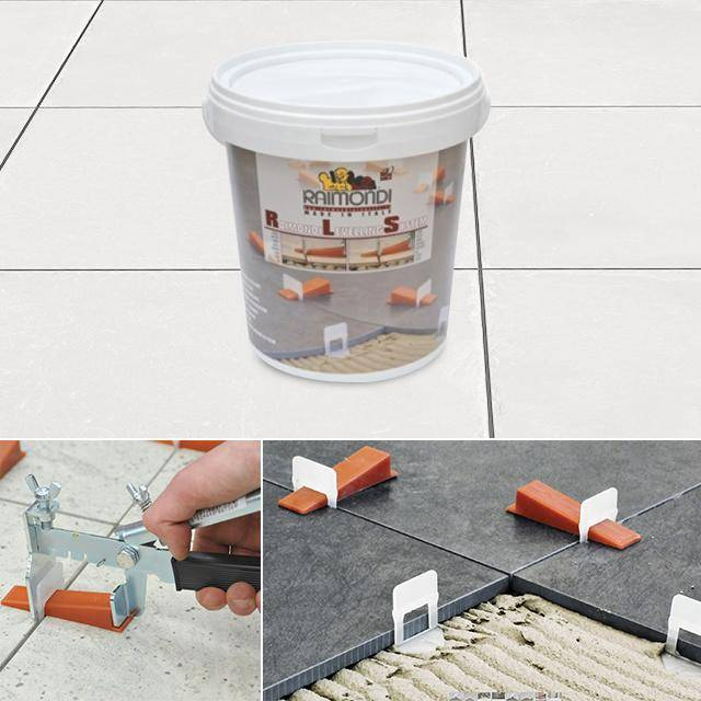 Levelling Spacers Box Starter Set